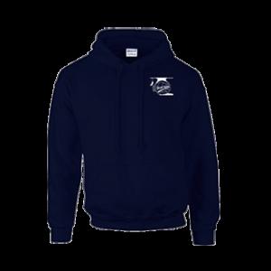 Donitas hooded sweater basis navy