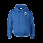 Donitas hooded sweater basis royal blue